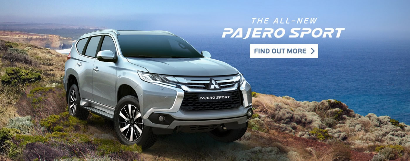New Pajero Sport At Mitsubishi Dealers
